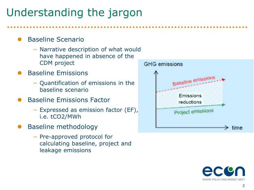Understanding the jargon