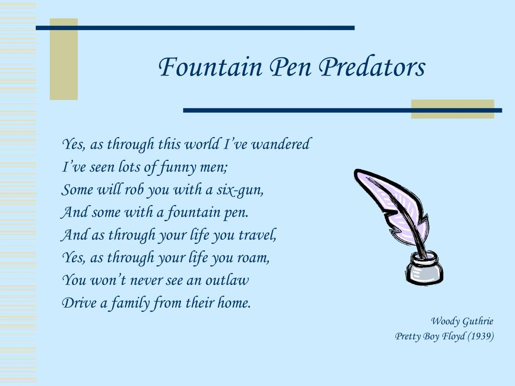 Fountain Pen Predators