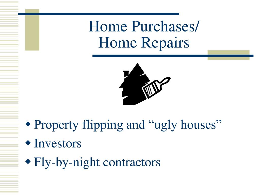 Home Purchases/