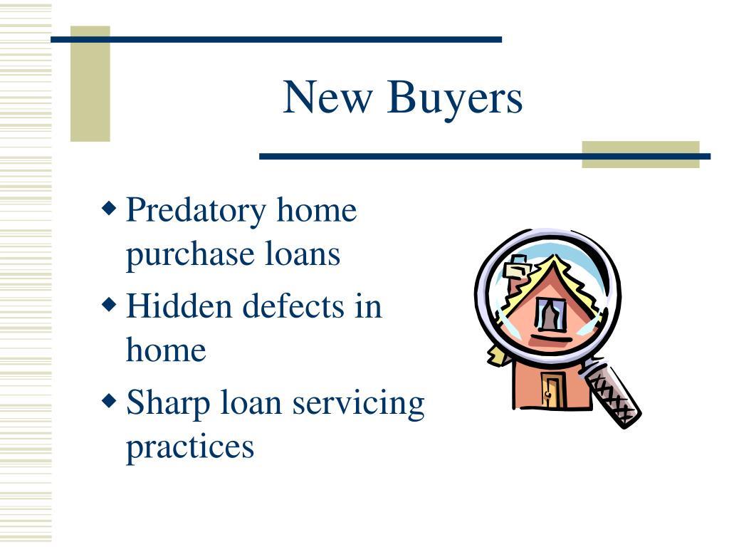 New Buyers