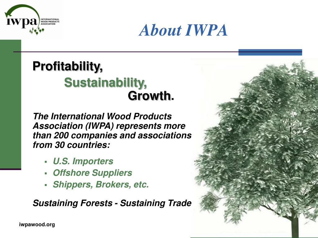 About IWPA