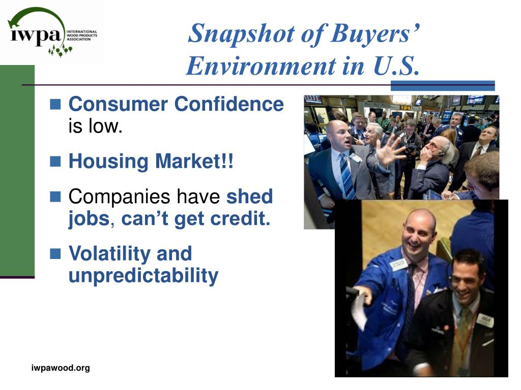Snapshot of Buyers' Environment in U.S.
