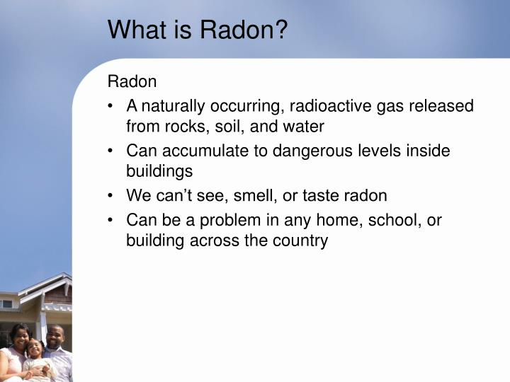 What is Radon?