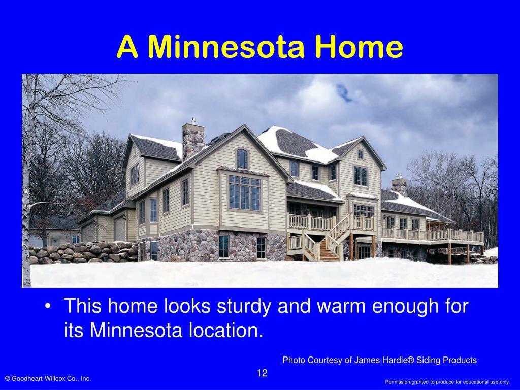 A Minnesota Home