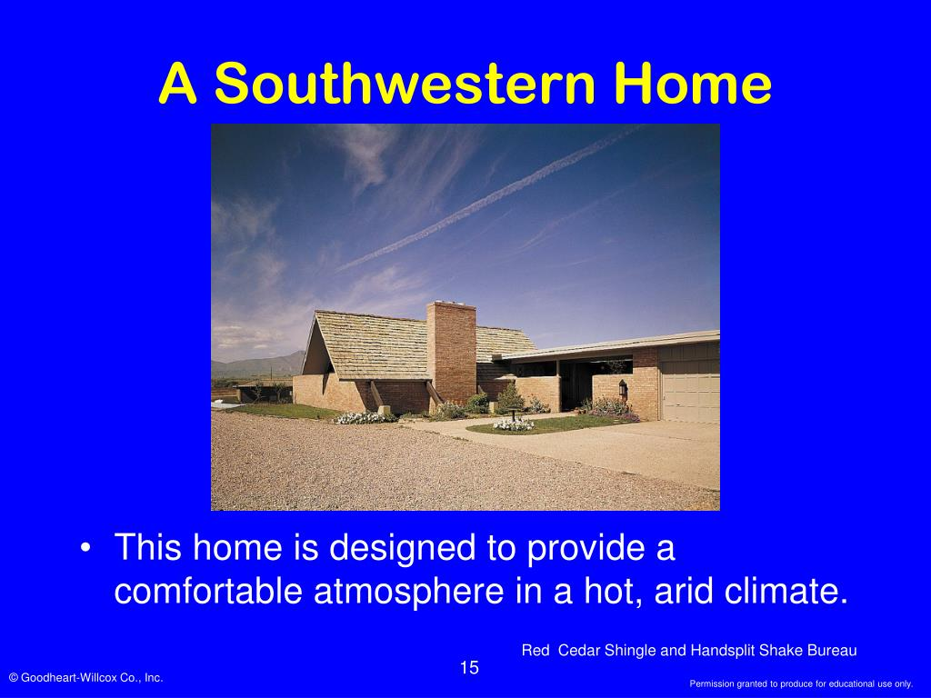 A Southwestern Home