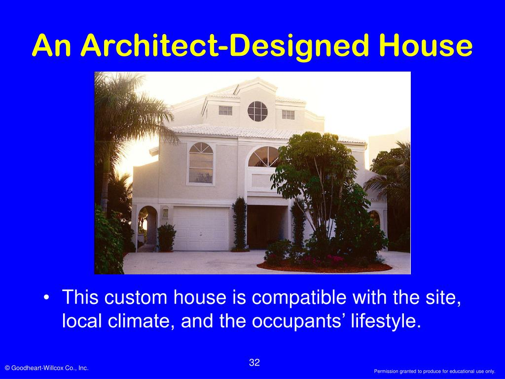 An Architect-Designed House