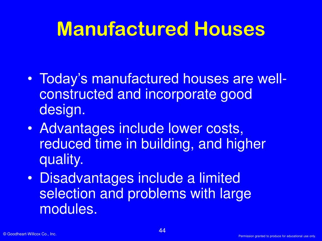 Manufactured Houses