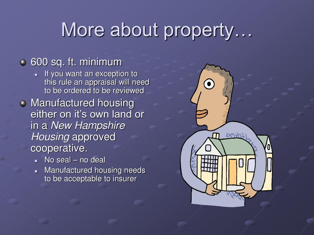 More about property…