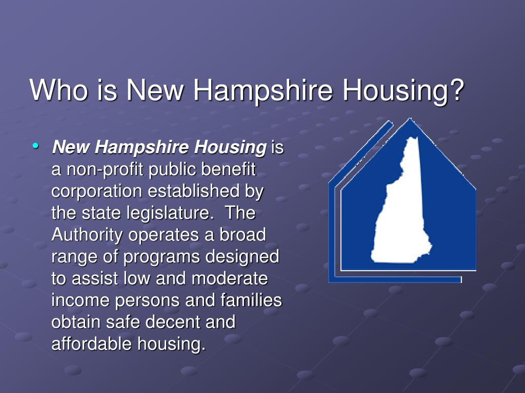 Who is New Hampshire Housing?