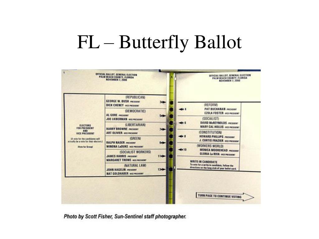 FL – Butterfly Ballot