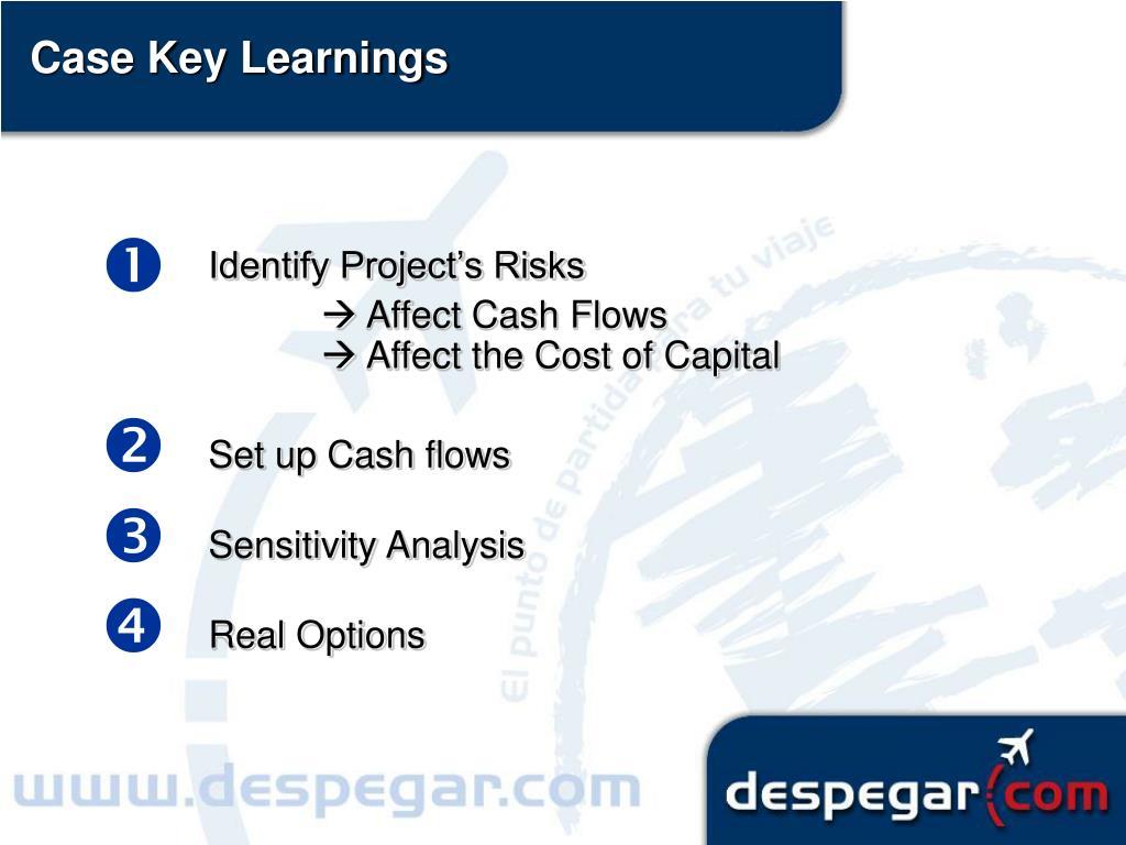 Case Key Learnings