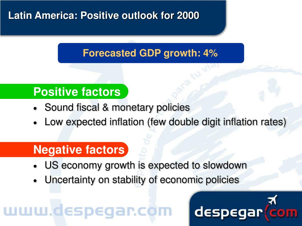 Latin America: Positive outlook for 2000