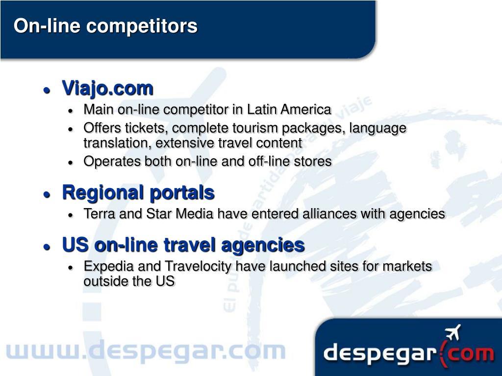 On-line competitors