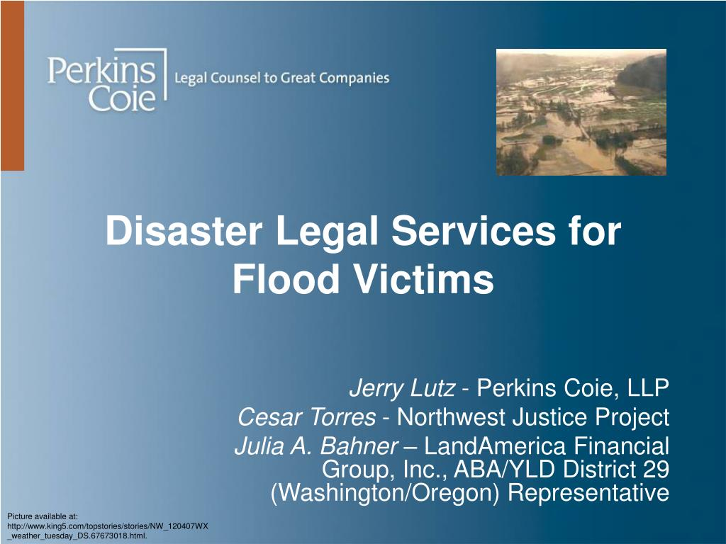 disaster legal services for flood victims