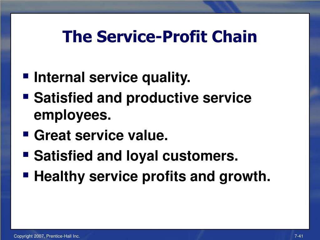 The Service-Profit Chain