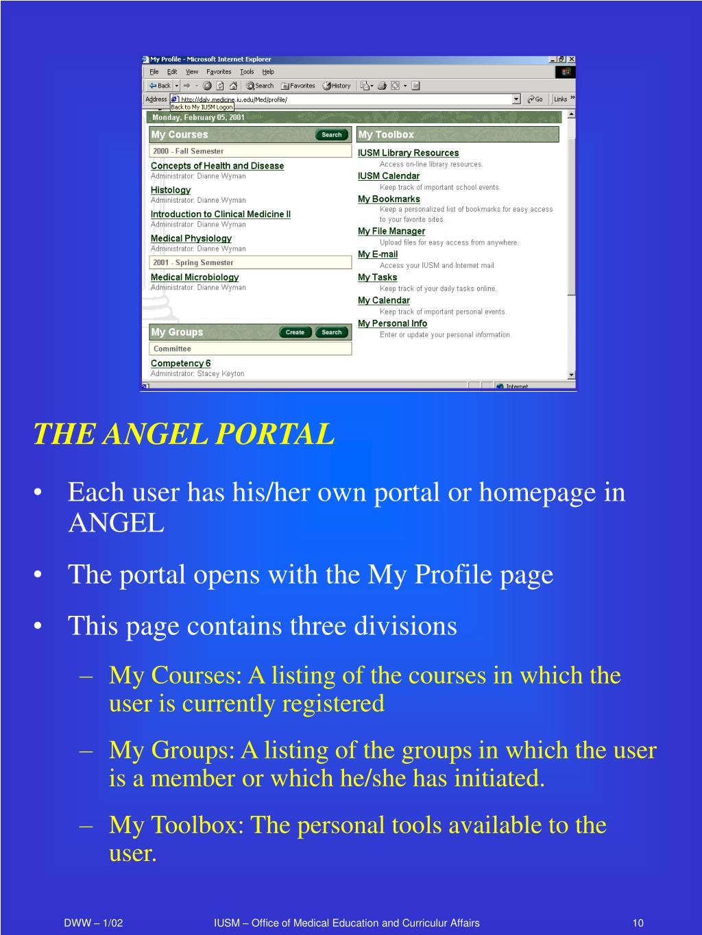 THE ANGEL PORTAL