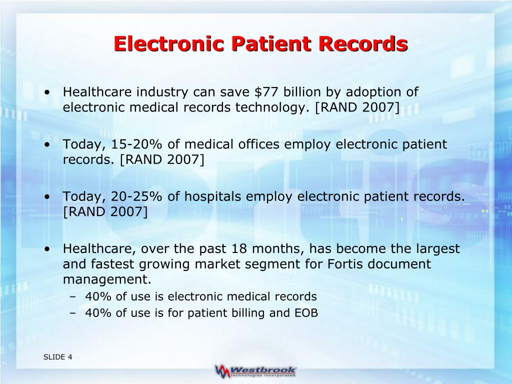 Electronic Patient Records