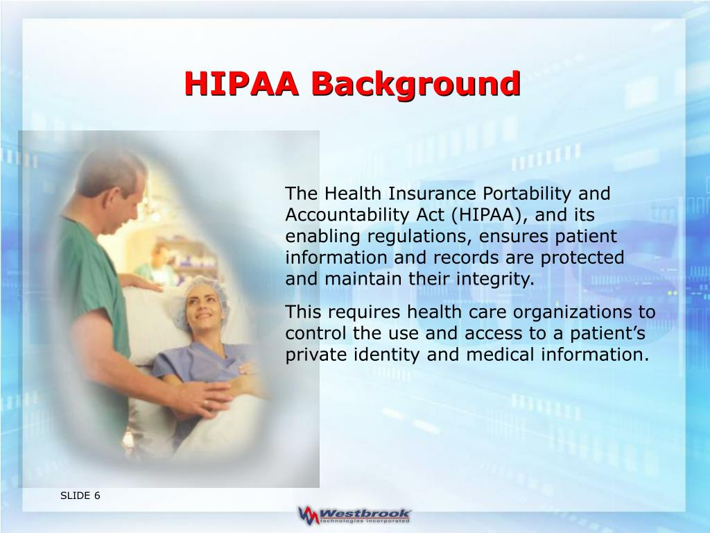 HIPAA Background