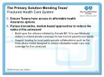 the primary solution mending texas fractured health care system44