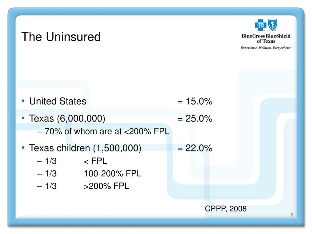 The Uninsured