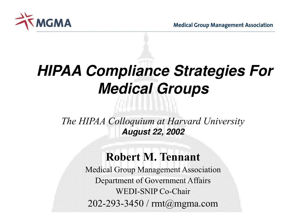 HIPAA Compliance Strategies For Medical Groups