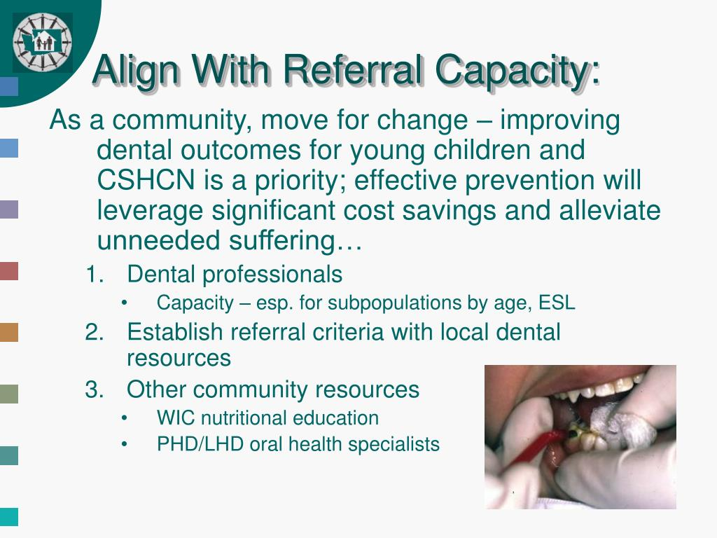 Align With Referral Capacity