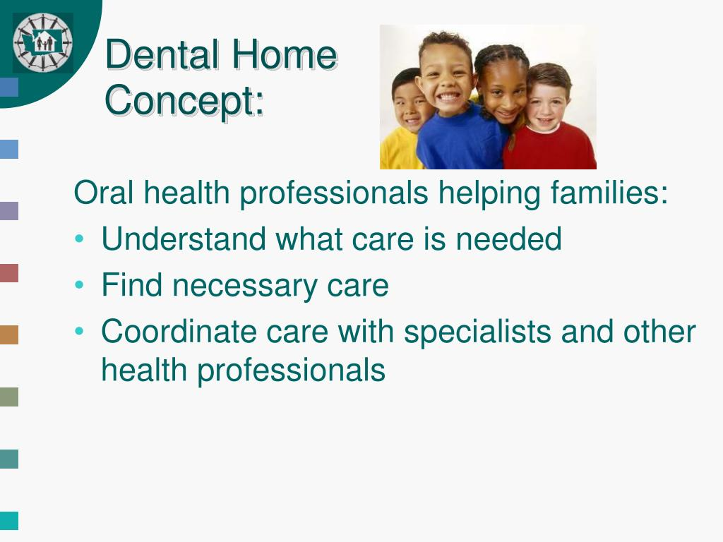 Dental Home Concept: