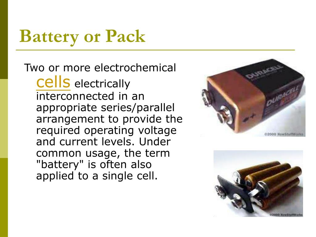 Battery or Pack