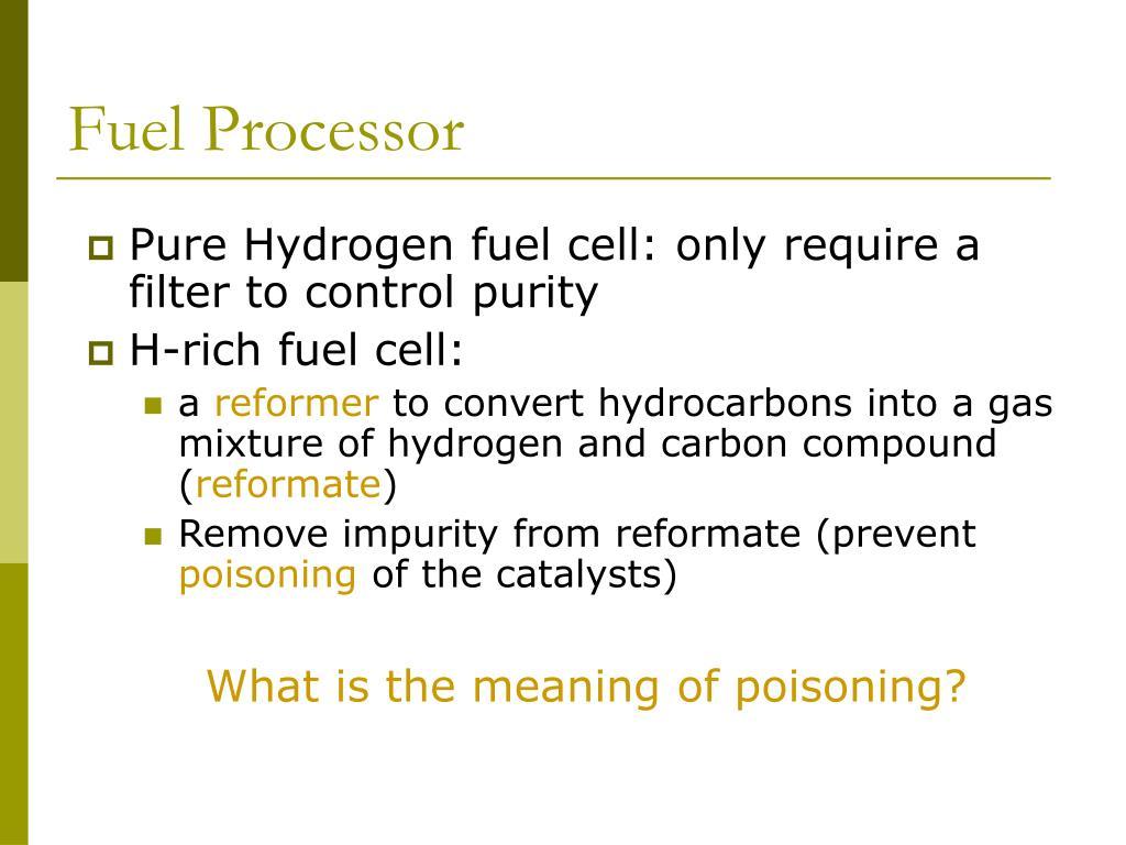 Fuel Processor