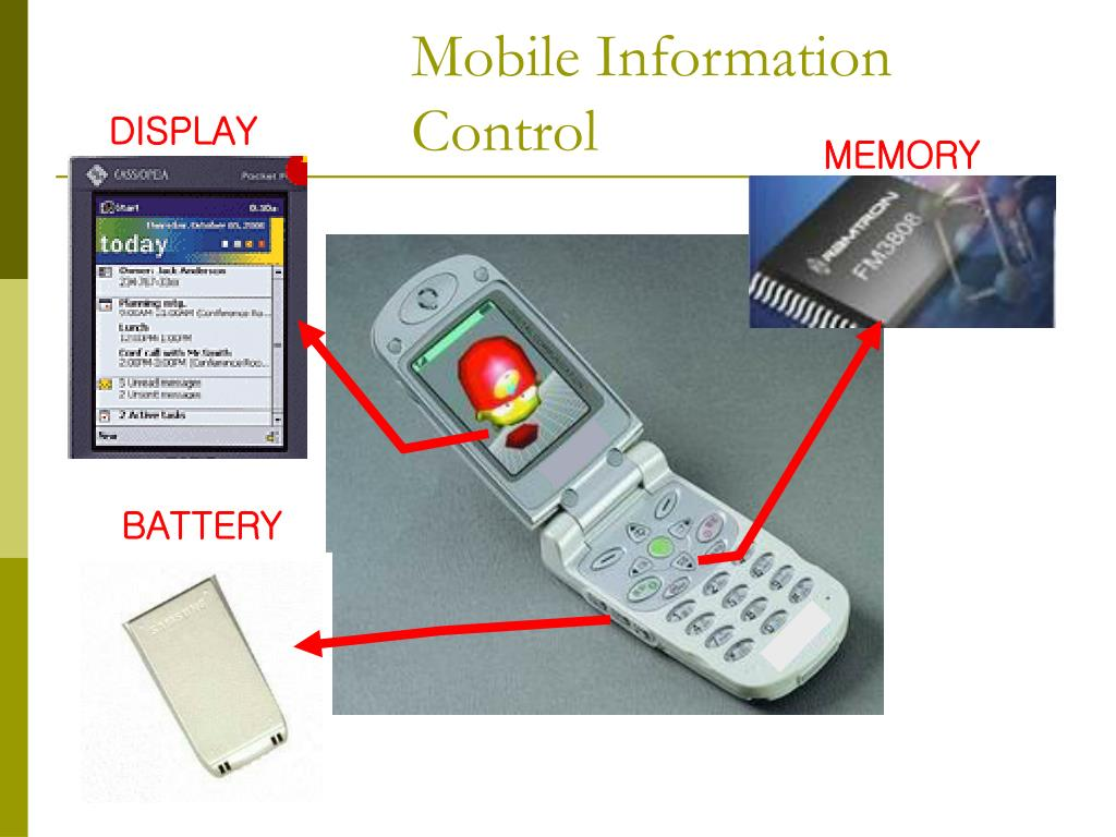 Mobile Information Control
