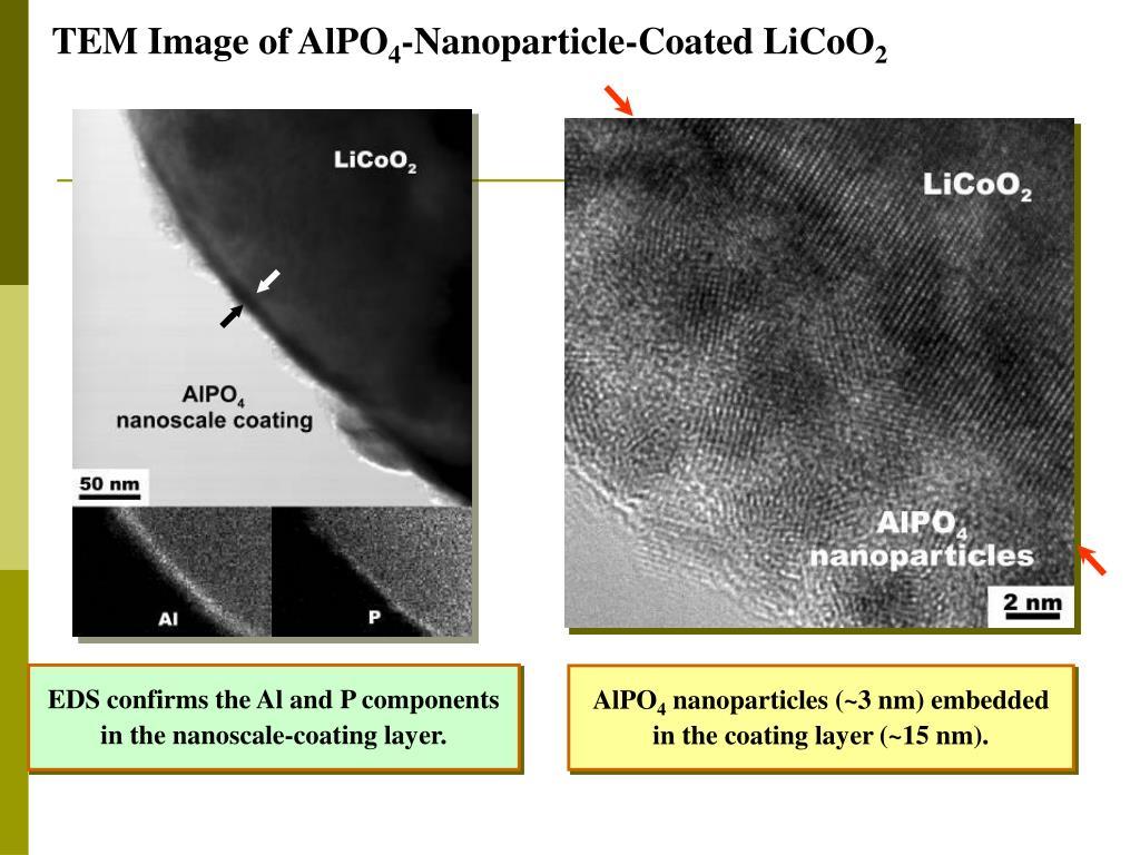 TEM Image of AlPO