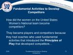 fundamental activities to develop competitors8
