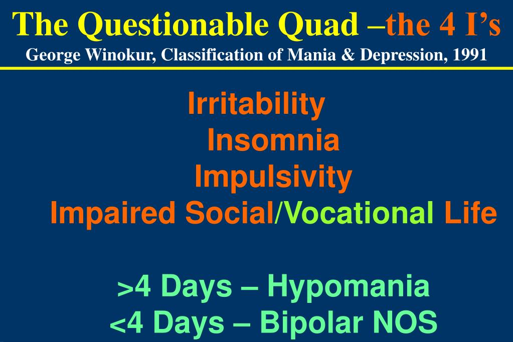 The Questionable Quad –