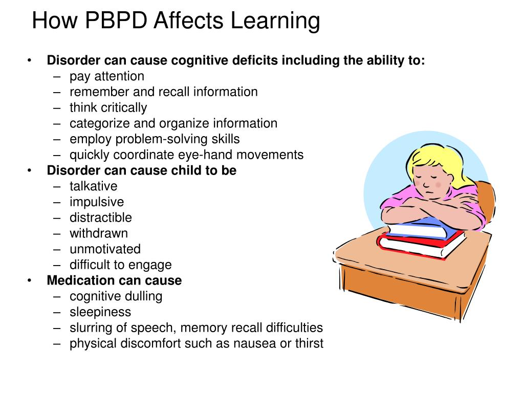 How PBPD Affects Learning