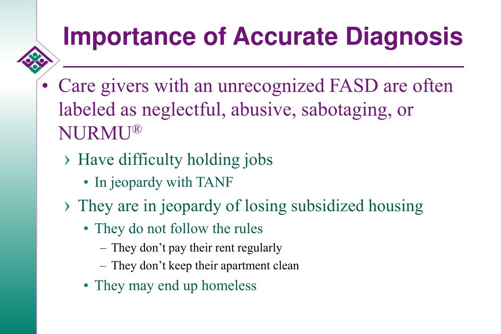 Importance of Accurate Diagnosis