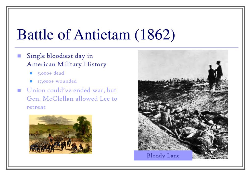 battle of antietam - HD 1024×768