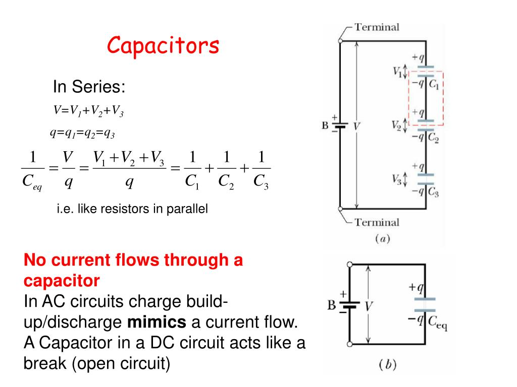 resistors capacitors and inductors Capacitors and inductors recommended for high school through college collect electric potential and current data in a dc circuit in which a capacitor or an inductor is placed in series with various resistors.