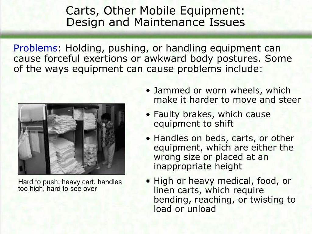 Carts, Other Mobile Equipment: