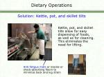 dietary operations17