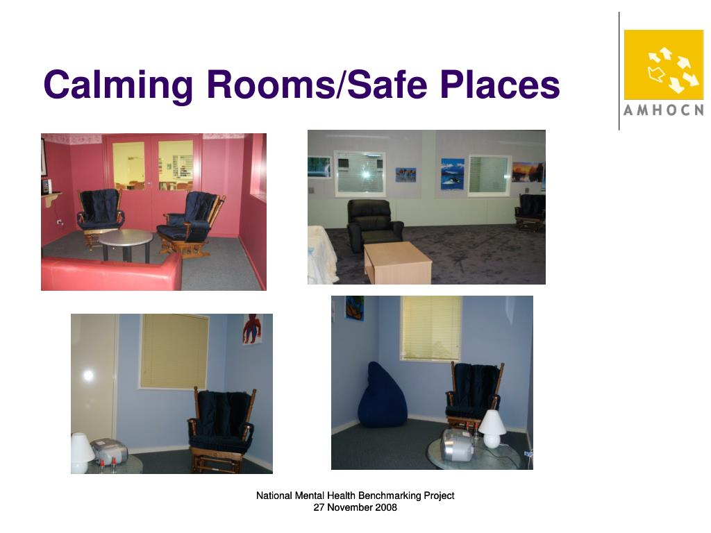 Calming Rooms/Safe Places