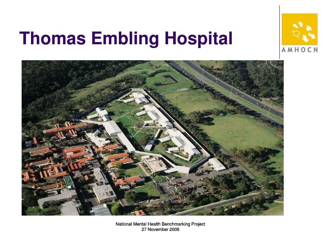 Thomas Embling Hospital