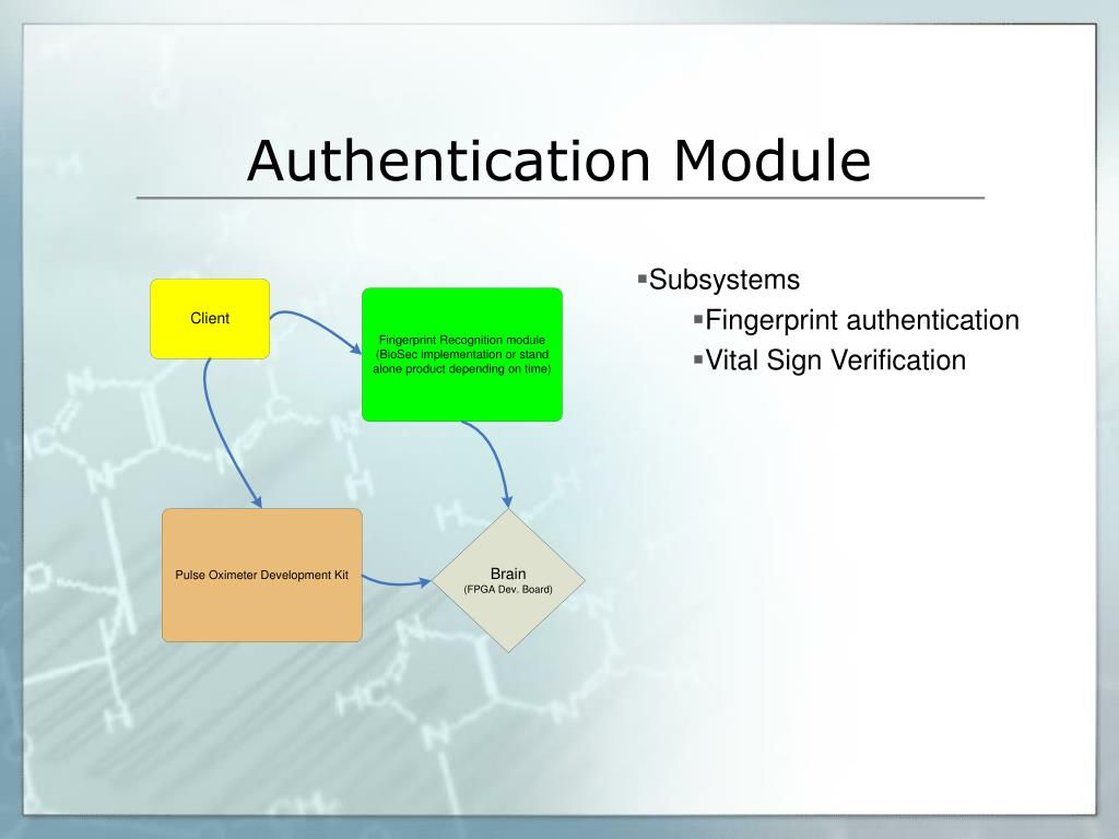 Authentication Module