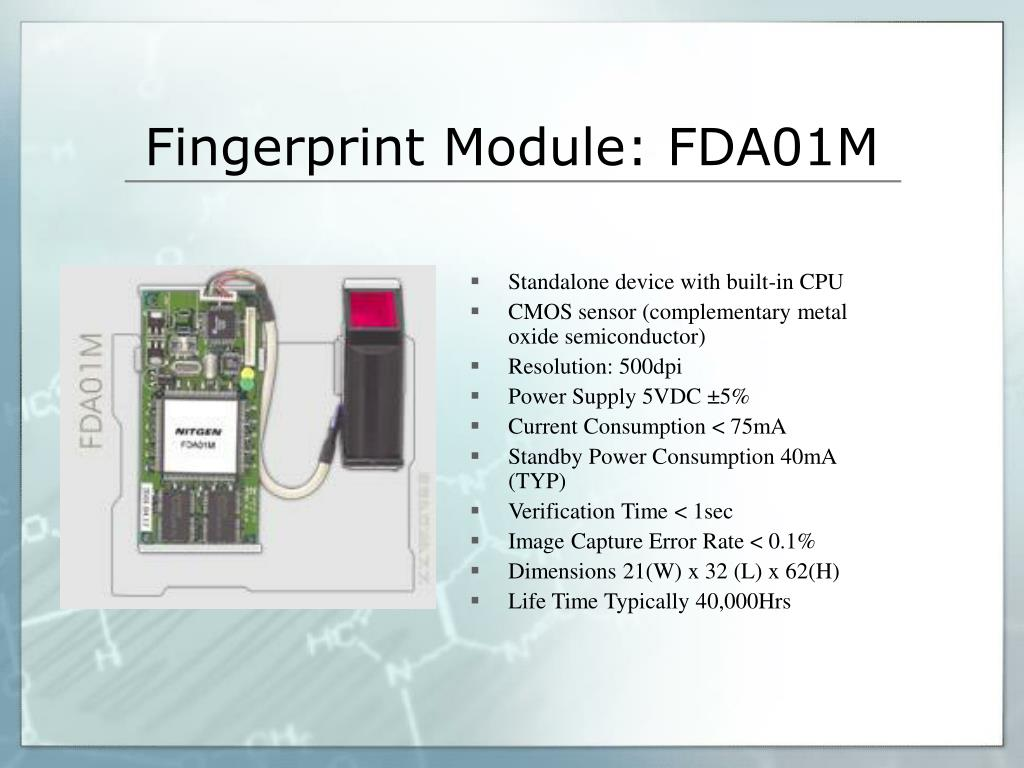 Fingerprint Module: FDA01M