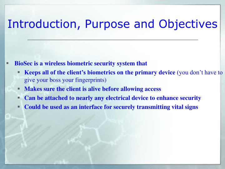Introduction purpose and objectives l.jpg