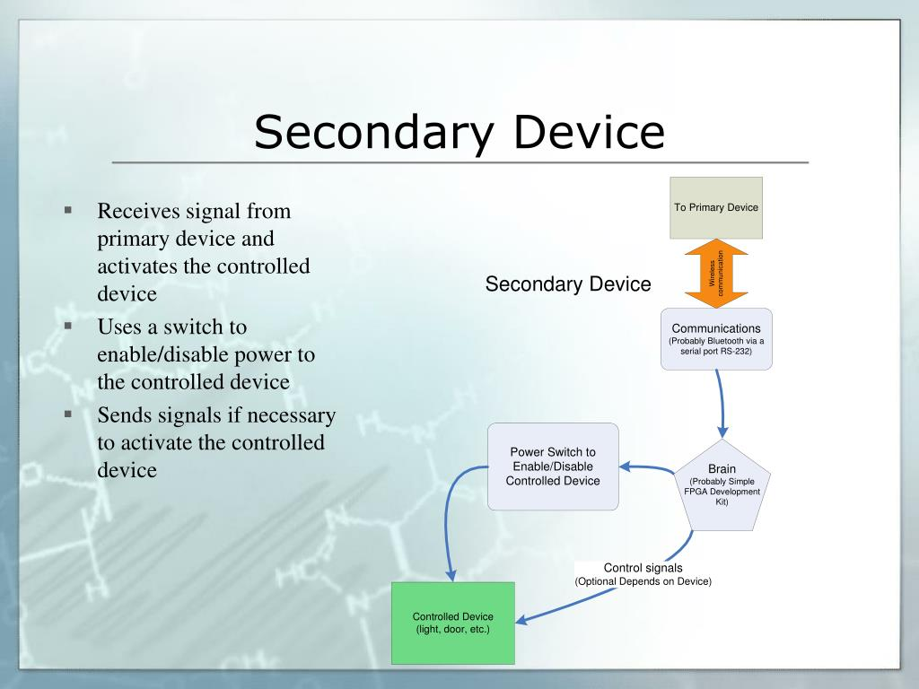 Secondary Device