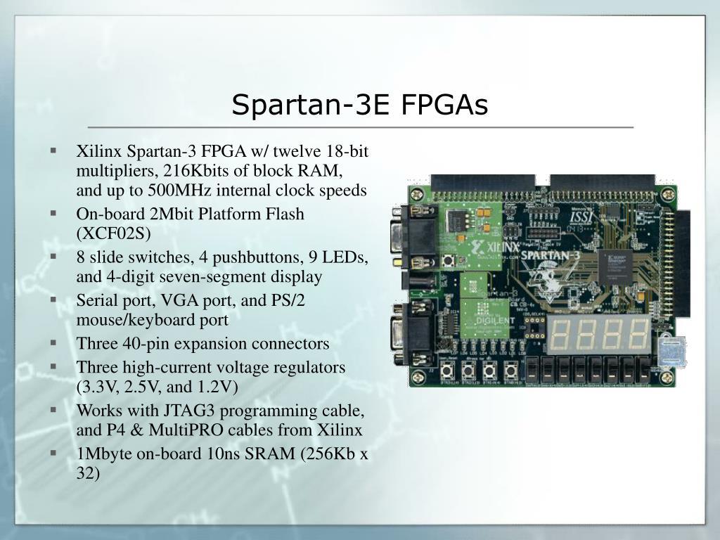 Spartan-3E FPGAs