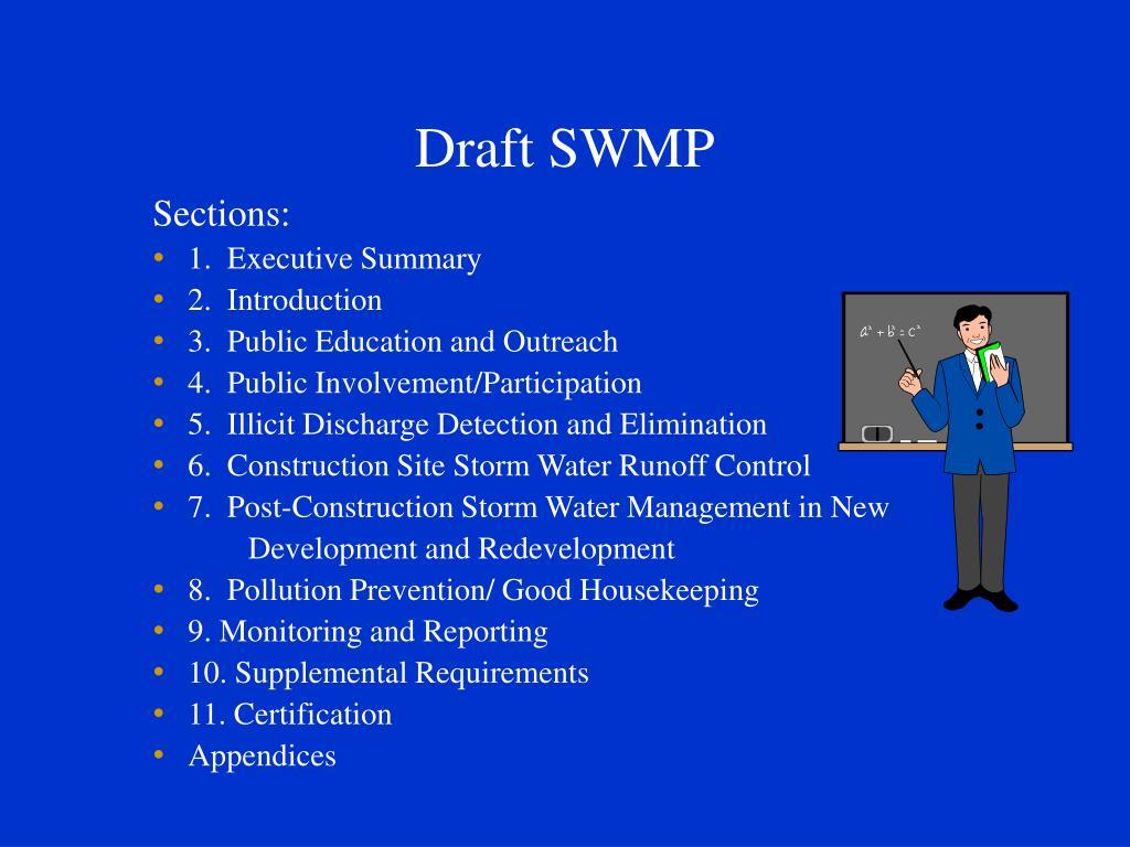 Draft SWMP