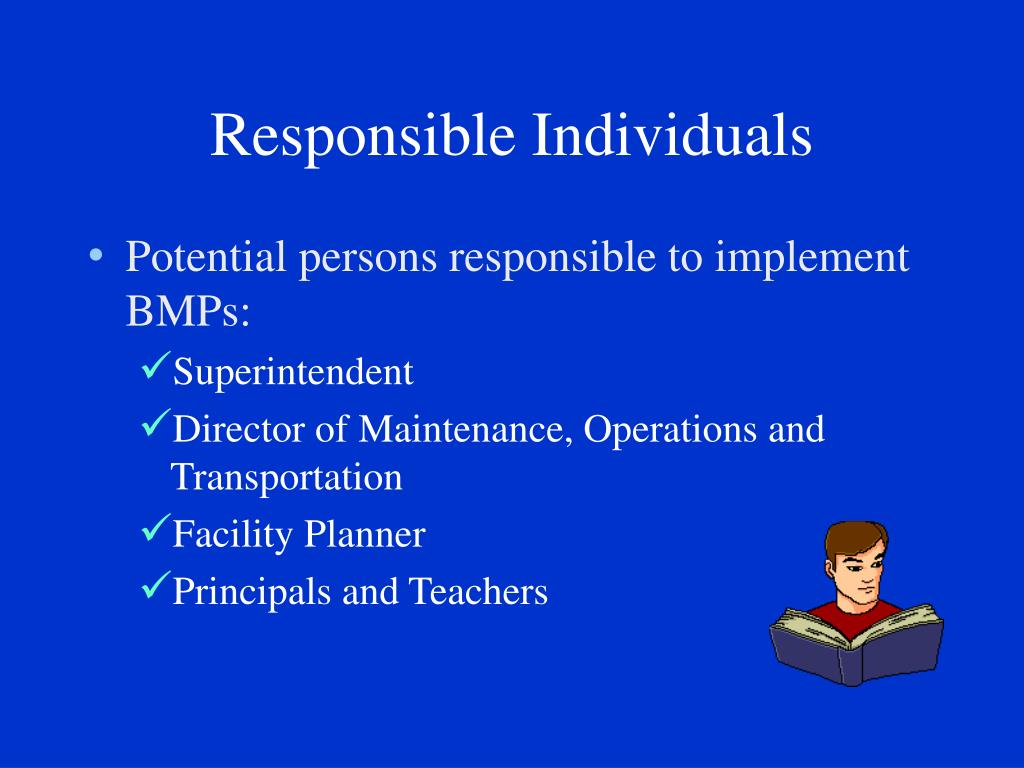 Responsible Individuals