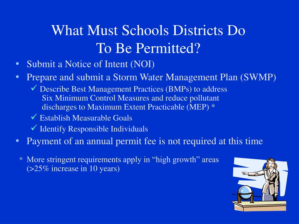 What Must Schools Districts Do
