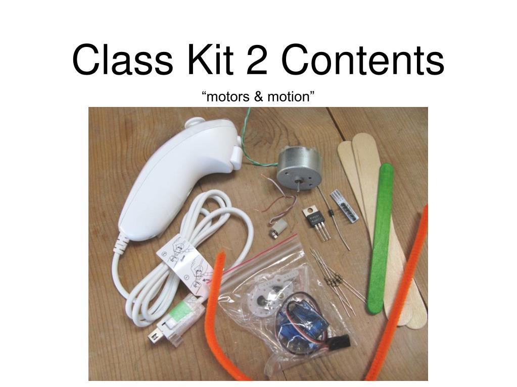 Class Kit 2 Contents